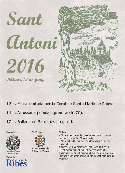 Festa de Sant Antoni de Ribes