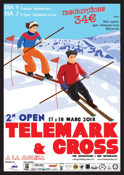 2on Open Telemark & Cross La Molina